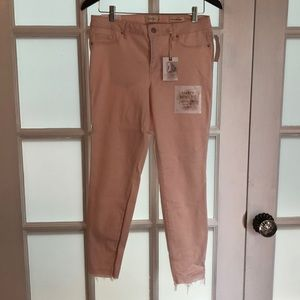 Jessica Simpson light pink skinny jeans